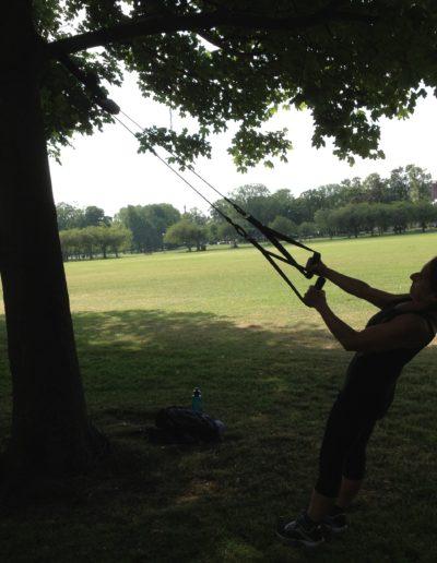 TRX on a tree